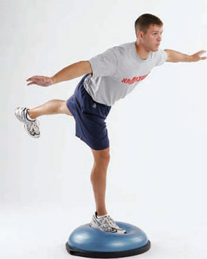 Balance and strength training for the active person in Nelson